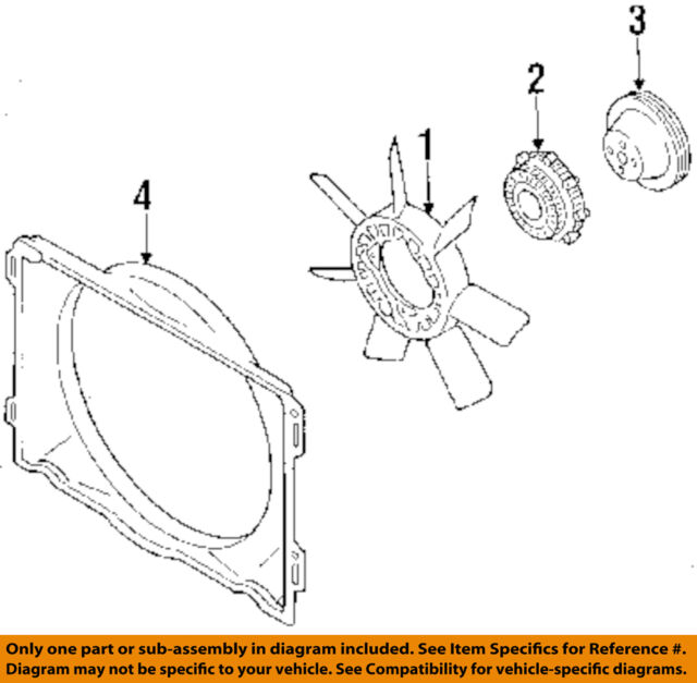 1986 mazda b2000 engine diagram mazda b2200   b2000 radiator cooling fan shroud 1986 to 1993 for  b2000 radiator cooling fan shroud