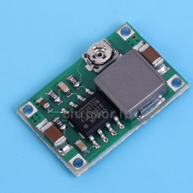 5X Mini-360 DC/DC Buck Converter Step Down Power Module 4.75V-23V to 1V-17V US