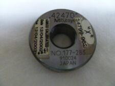 Mitutoyo Setting Ring Gage 42470 177 283