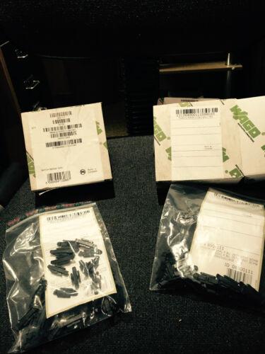 Negro Wago WINSTA Mini Enchufes palanca de cierre WAGO 890-111 Conector Accesorio