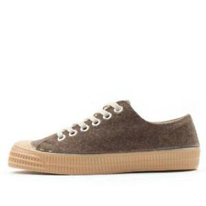 Novesta Star Master Trainers Felt Sarrubeco  Hand Made Shoes Sneakers Converse