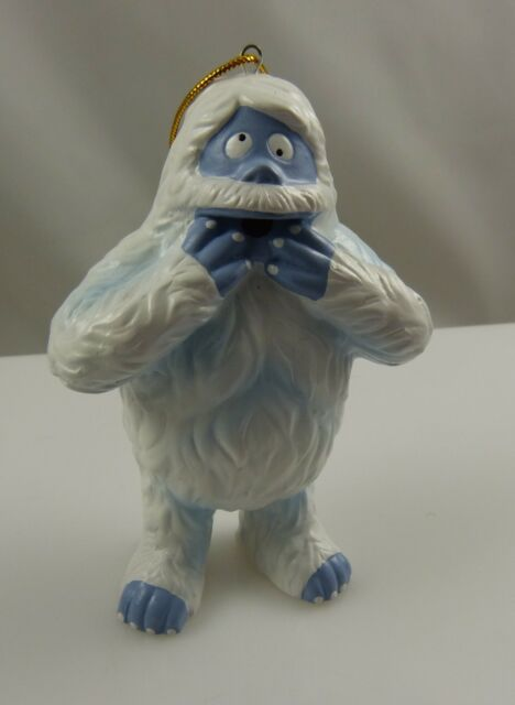 Christmas ornament Bumble from Rudolph red nosed reindeer.