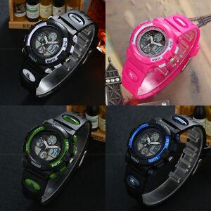 OHSEN-Teen-Children-Digit-Light-Date-32mm-Case-Waterproof-Sport-Quartz-Watch-New