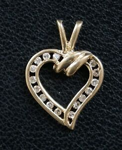 14k-Yellow-Gold-Channel-Set-Diamond-Heart-Pendant