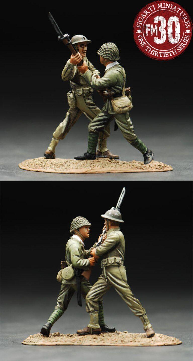 FIGARTI WW2 AMERICAN WAKE ISLAND WIA-017 DESPERATE FIGHT USMC VS. JAPANESE MIB
