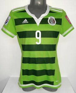 Details about ADIDAS WOMENS WC2015 CANADA CORRAL MEXICO ORIGINAL JERSEY SHIRT