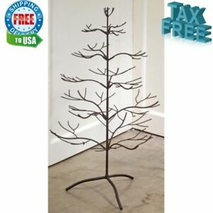 image is loading adorable decorations metal christmas ornament display holder tree - Metal Christmas Decorations