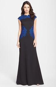 Tadashi geborduurde Xl jurk textuur Neopreen Shoji maat ffrwxpv5q