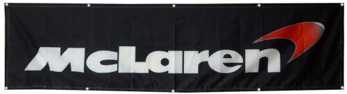 McLaren Flag  Performance 2X8FT Banner US Shipper