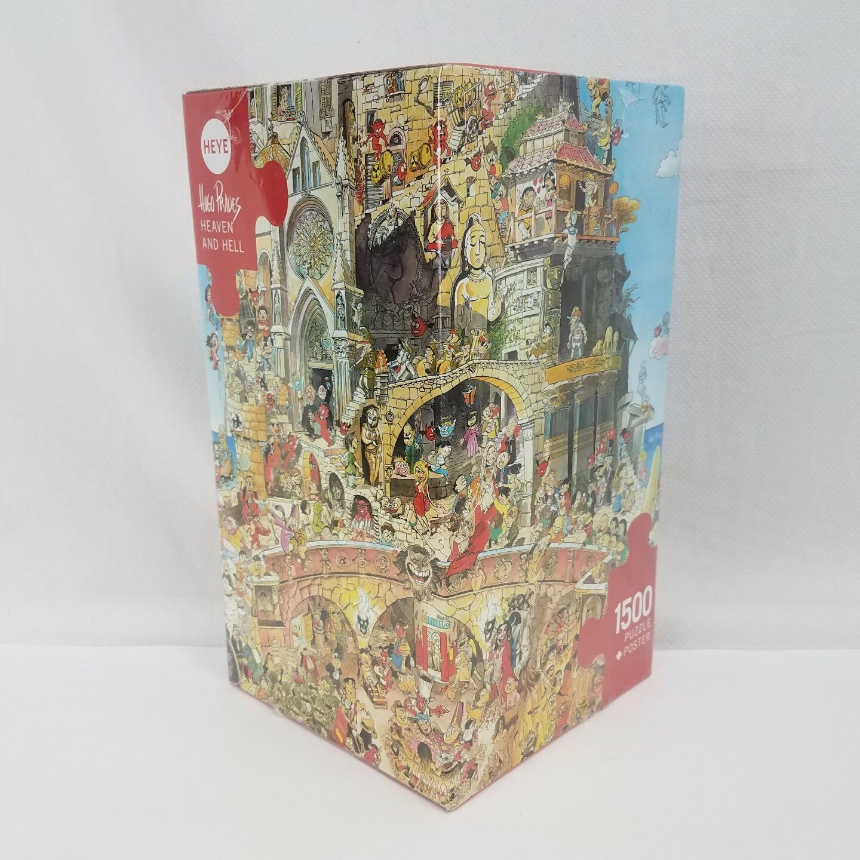 Prades - Heaven and Hell jigsaw puzzle 1500 pcs, 2006   Heye, 29118