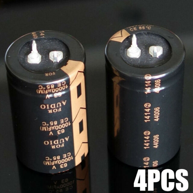 ELNA 10000UF 63V FOR AUDIO Grade Electrolytic Capacitors Kondensator 1 pcs