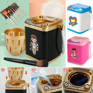 Mini-Electric-Washing-Machine-Children-Pre-School-Toy-Wash-Makeup-Brushes-f34