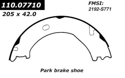 Centric Parts 111.07710 Rear Parking Brake Shoes