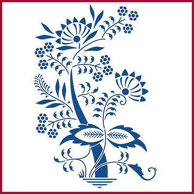 FLOWER 1  STENCIL The Artful Stencil