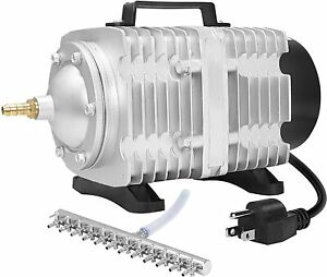 VIVOSUN 317-1750GPH Commercial Air Pump 20W-102W,4-12 Outlets Air Pumps
