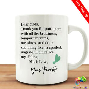 Image Is Loading Funny Mug Quotes With Dear Mom Coffee Tea