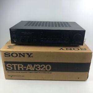 Vintage Sony STR-AV320 2 Channel Audio/Video Control AM/FM Stereo Receiver