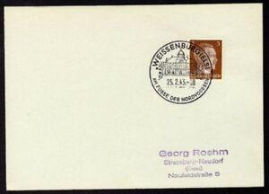 Allemagne-n-706-Yv-cachet-WW2-WEISSENBURG-Timbre-Allemand-Hitler-Mi-n-782