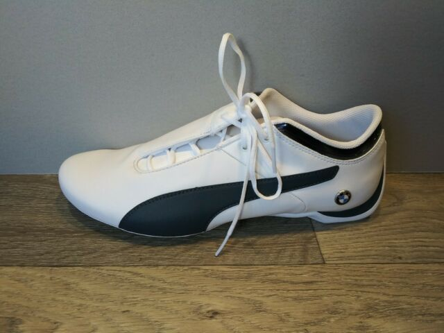 PUMA Men's BMW Logo Ms Future Cat Sneaker Shoes WhiteBlack size 11.5 N