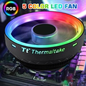 New RGB LED Intel CPU Cooler Fan Heatsink AM4 Socket LGA 1150 1151 1156 1155 775