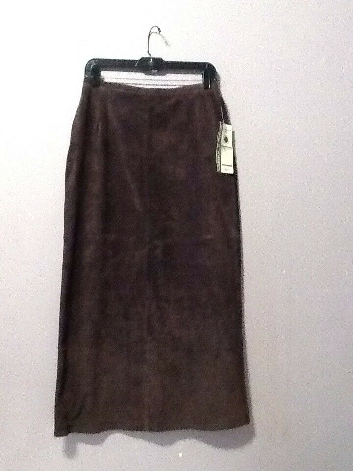 Ladies Washable Suede Skirt Size 10