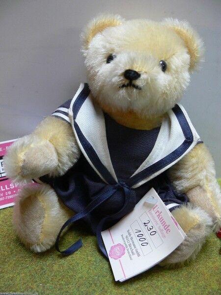 HB 28 Hermann Bamberg Teddy marinaio signora circa 22 cm disponibilità limitata