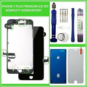 LCD-Display-fuer-iPhone-7-PLUS-7-RETINA-5-5-034-KOMPLETT-VORMONTIERT-SCHWARZ-BLACK