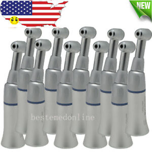 10X-CLASSICAL-Dental-Slow-Low-Speed-Handpiece-Push-Button-Contra-Angle-Latch-Bur