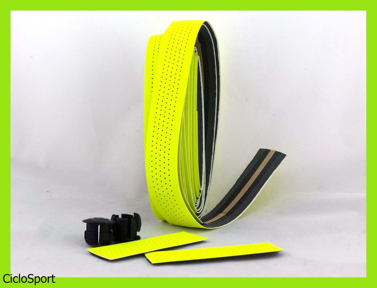 Tape handlebar cover for racing bike   fixed gear - yellow colour fluo