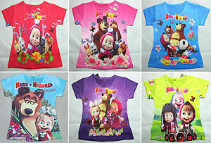 Masha-e-Orso-Maglia-bambina-T-shirt-Short-Sleeves-Masha-and-the-Bear-0709007-12