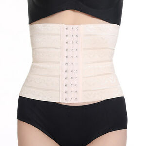 24cc99e49092f Image is loading Breathable-Waist-Diet-Body-Slim-Shaper-Postpartum-Recovery-