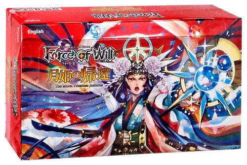 Fuerza de voluntad TCG  Grimm Cluster  la Luna sacerdotisa devoluciones Booster Box fow Nuevo