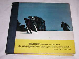 Tschaikowsky-Symphony-No-5-in-e-Minor-Op-64-Eugene-Ormandy-Scatola-Set-DM-828