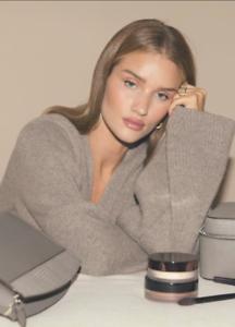 $940 Totême NEW Cashmere Wool Blend Knit Cardigan XS Langre Hazel Melange