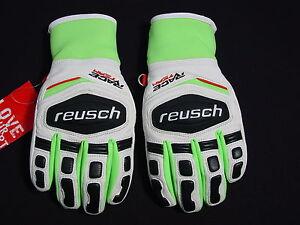 UK Verfügbarkeit großartige Qualität Tropfenverschiffen Details zu New Reusch Racing GS Grand Slalom RLoft Ski Gloves Junior Small  (5) 4671111S