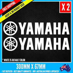 2-x-YAMAHA-LOGO-Sticker-JDM-Vinyl-Funny-Dope-Window-Laptop-Motorcycle-300mm