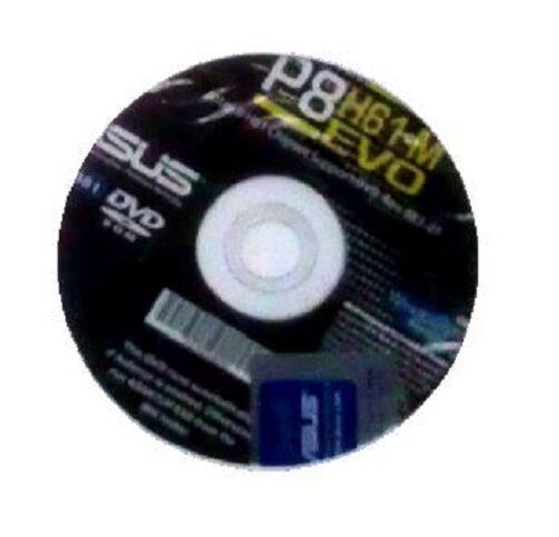 orig. Asus Mainboard Treiber CD DVD P8H61-M EVO OVP NEU driver Aufkleber Windows