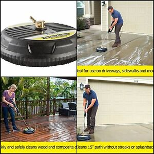 Image Is Loading Pressure Washer Surface Brush Wand Cleaner Attachment Patio