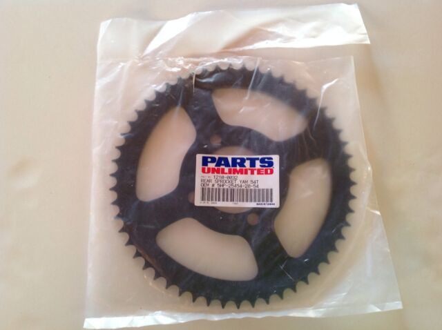 Parts Unlimited 1210-0032 Yamaha Rear Sprocket 54T OEM#5HP-25454-20-54 TTR125