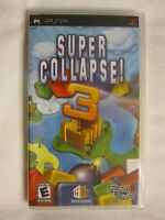 Super Collapse 3 (playstation Portable, Psp) Brand New, Sealed