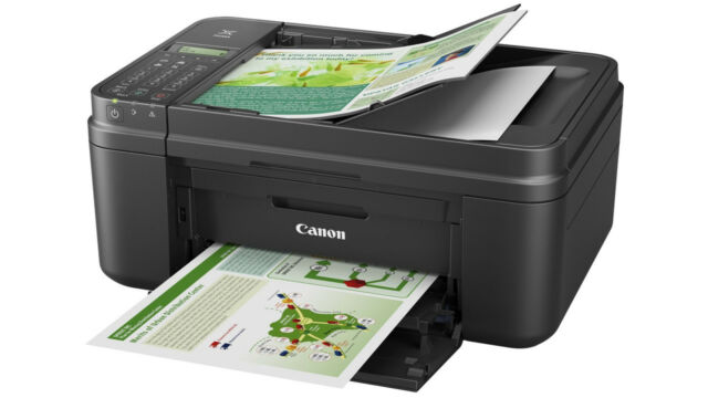 01 Black CANON Pixma MX495 All in One WIRELESS PRINTER SCANNER COPIER