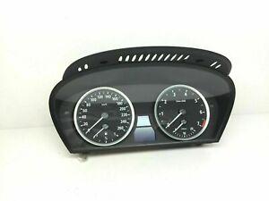 BMW E60 E61 Essence Compteur de Vitesse Instrument Cluster Km/H