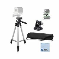 50 Aluminum Camera Tripod With Built In Bubble Level Indicator... Free Shipping