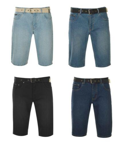 PIERRE CARDIN 100/% COTTON DENIM SHORTS CROP PANTS S M L XL 2XL 3XL 4XLBNWT