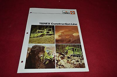 Terex Equipment Product Line Guide 1982 Dealers Brochure DCPA2