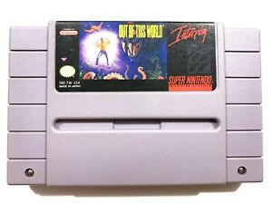Out-of-This-World-SUPER-NINTENDO-SNES-Game-Tested-Working-amp-Authentic