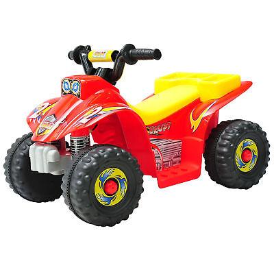 Elektroquad Kinderquad Elektrisch Kinderauto Elektromotorrad Motorrad Rot