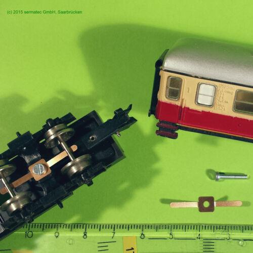 Diesellok BR 130 //Nohab schneckenwelle für  Drehgestell BTTB  Komplett