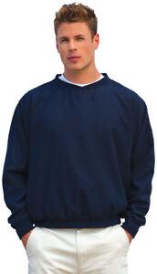 Shirt Inner Men's Harbor 32 Crewneck Winter Wind Long Pocket Sleeve Side wFzHWwrq1