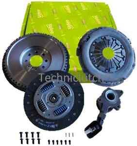 Ford-Mondeo-2-2-TDCi-6-velocidad-Volante-de-Inercia-Kit-de-conversion-y-VALEO-EMBRAGUE-con-CSC